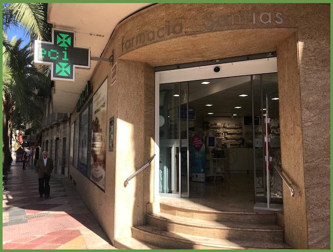 Farmacia-santias-Aspe-Local